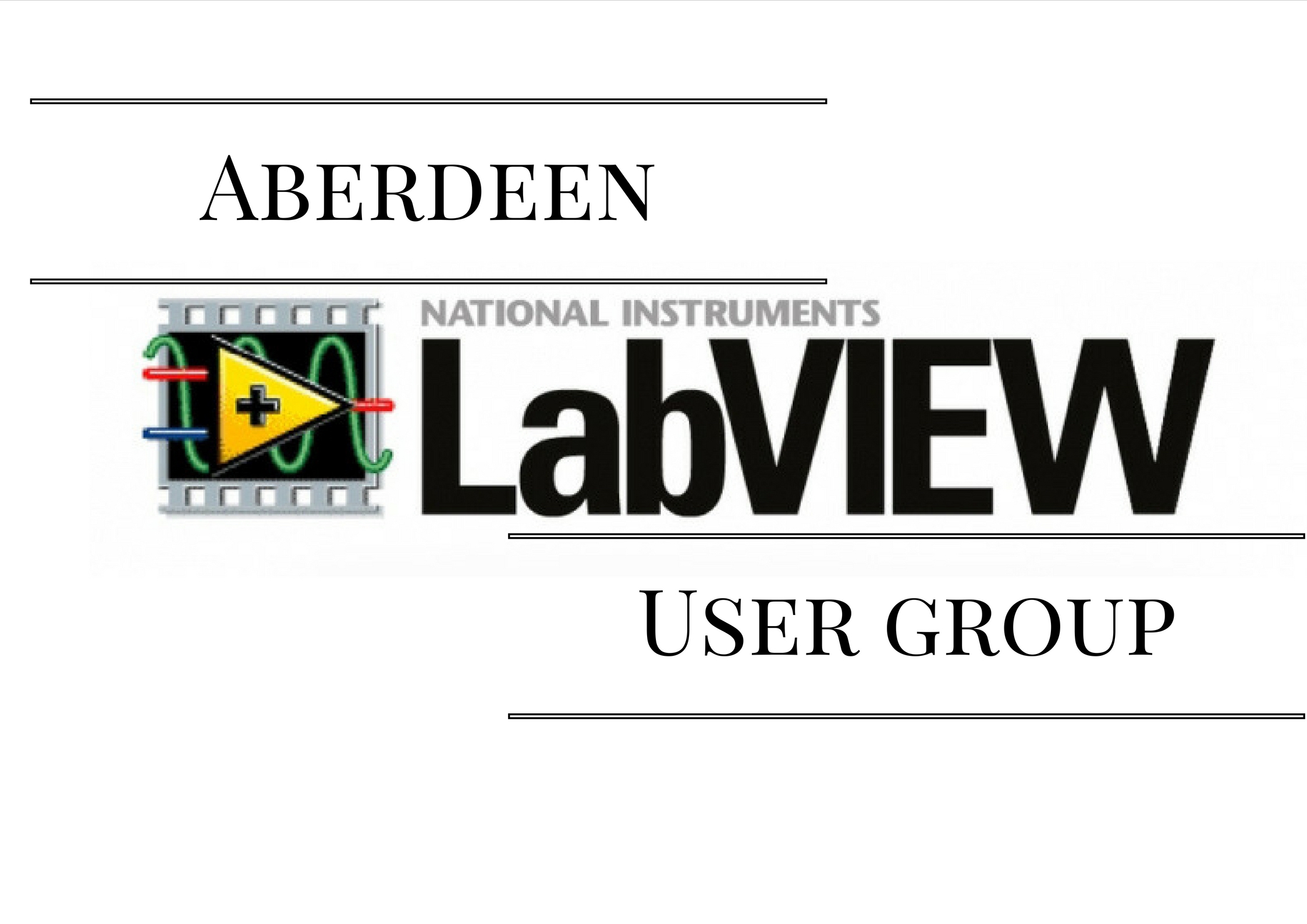 Aberdeen LabVIEW User Group – ALE Consultants